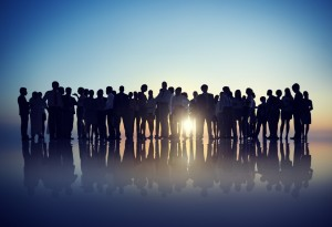http://www.dreamstime.com/royalty-free-stock-photos-silhouettes-business-people-gathering-outdoors-image44938718